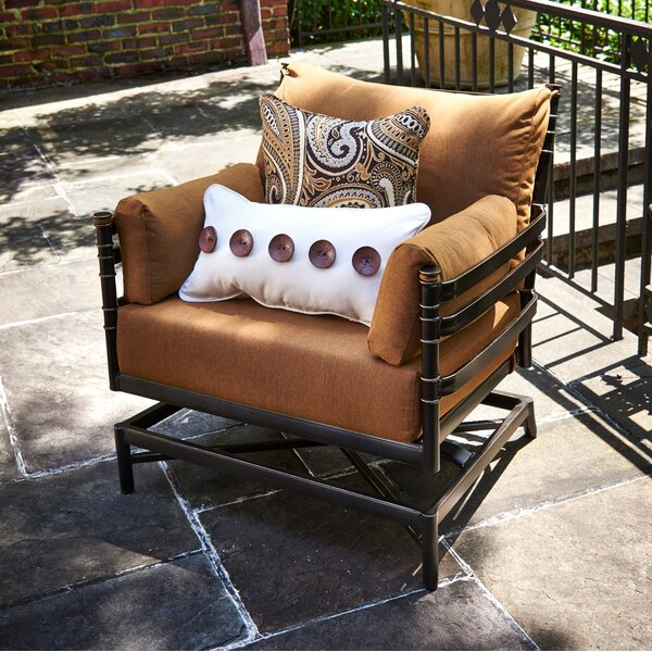 Lancaster Patio Chair with Sunbrella Cushions (Set of 2) by Inspired Visions