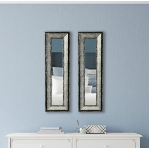Panel Accent Mirror (Set of 2) by 17 Stories