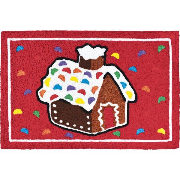 Carolina Gingerbread House Mat