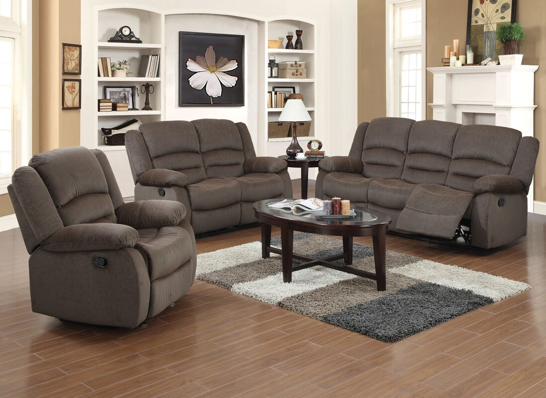 Red Barrel Studio Maxine 3 Piece Living Room Set & Reviews | Wayfair