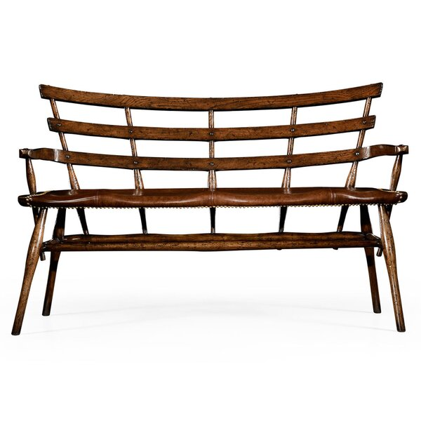Leather Bench by Jonathan Charles Fine Furniture