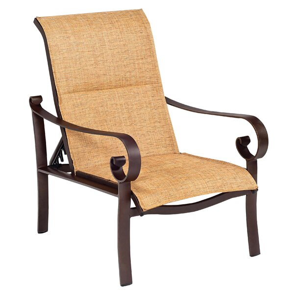 Belden Patio Chair with Cushion by Woodard