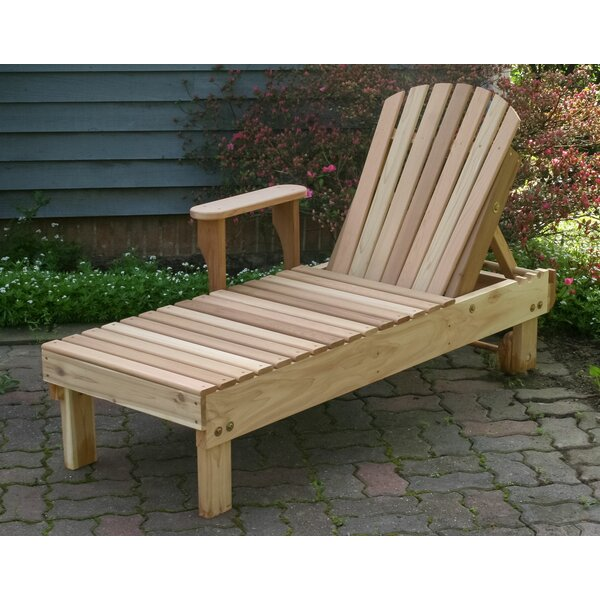 Prudhomme Chaise Lounge by Breakwater Bay Breakwater Bay