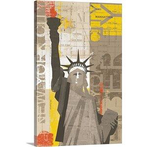 'Liberty' by Michael Mullan Graphic Art on Canvas by Great Big Canvas