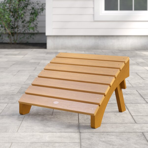 Anette Folding Outdoor Ottoman by Sol 72 Outdoor