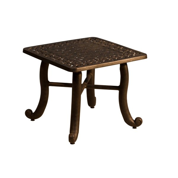 Westhampton Metal Side Table by Fleur De Lis Living