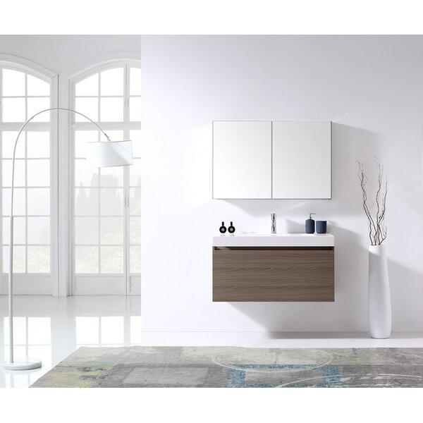 Frausto 39 Single Bathroom Vanity Set with Mirror by Brayden Studio