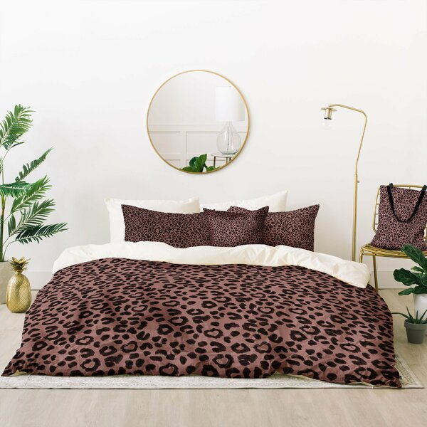 Dash and Ash Leopard Love Duvet Cover Set