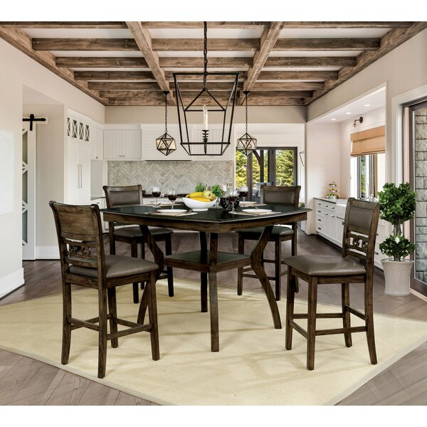 Gaener 5 Piece Dining Set by Loon Peak Loon Peak