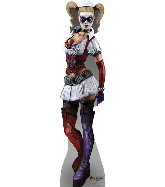 Harley Quinn - Arkham Asylum Game Cardboard Standup by Advanced Graphics