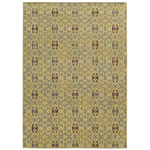 Tommy Bahama Cabana Blue / Beige Geometric Indoor/Outdoor Area Rug by Tommy Bahama Home