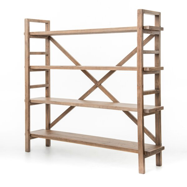 Maple Etagere Bookcase by 17 Stories