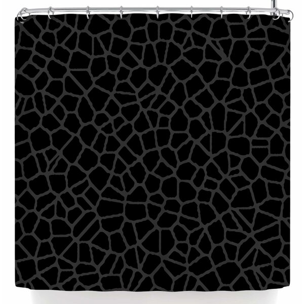 Trebam Staklo Shower Curtain by East Urban Home