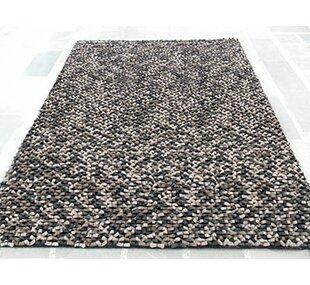 Best Deals Cobblestone Beige/Black Area Rug ByModern Rugs