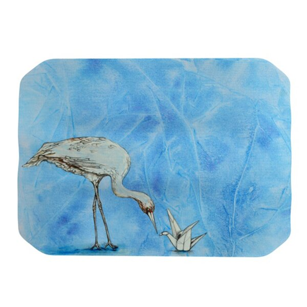 Crane Placemat by KESS InHouse