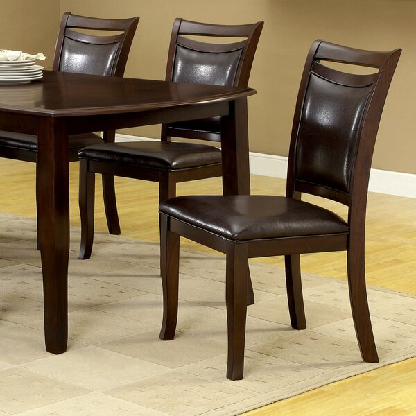 Neymar Upholstered Dining Chair (Set of 2) by Hokku Designs