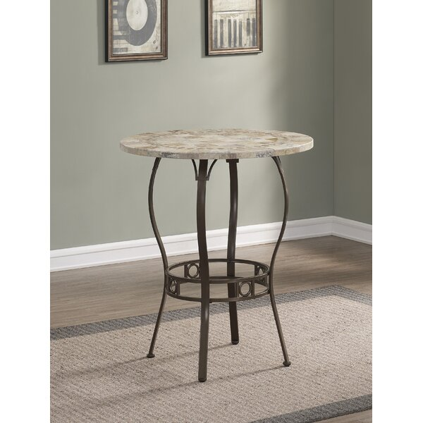 Jannie Pub Table by Fleur De Lis Living