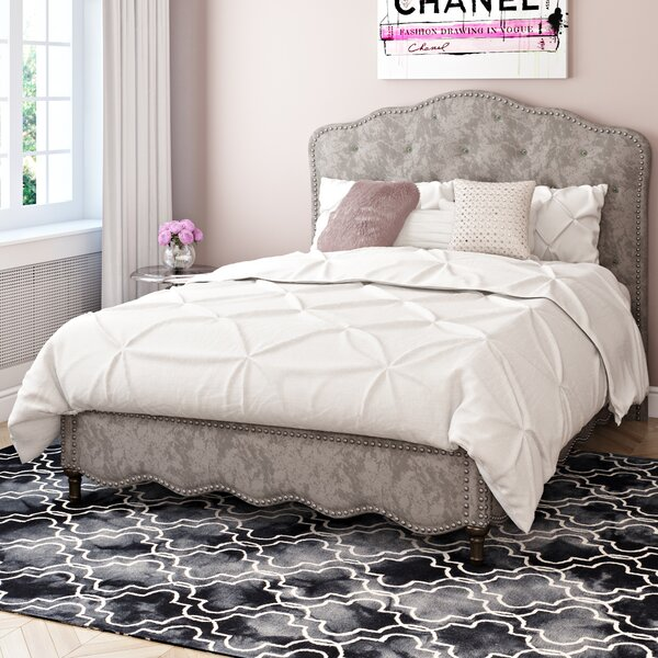 Cassiter Upholstered Platform Bed by House of Hampton