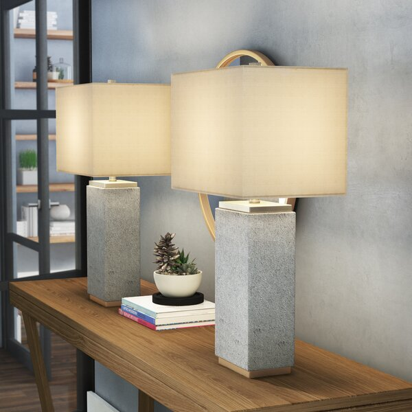 Glaucus 28 Table Lamp (Set of 2) by Wrought Studio