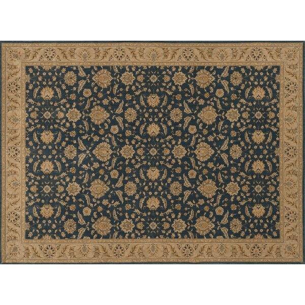 Dolphus Denim/Beige Area Rug by Astoria Grand