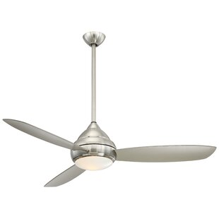 Affordable 58 Concept™ I Wet LED 3 Blade Outdoor Ceiling Fan By Minka Aire