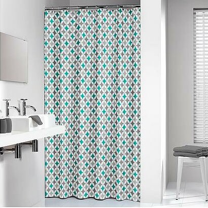 Diamond Shower Curtain by Sealskin