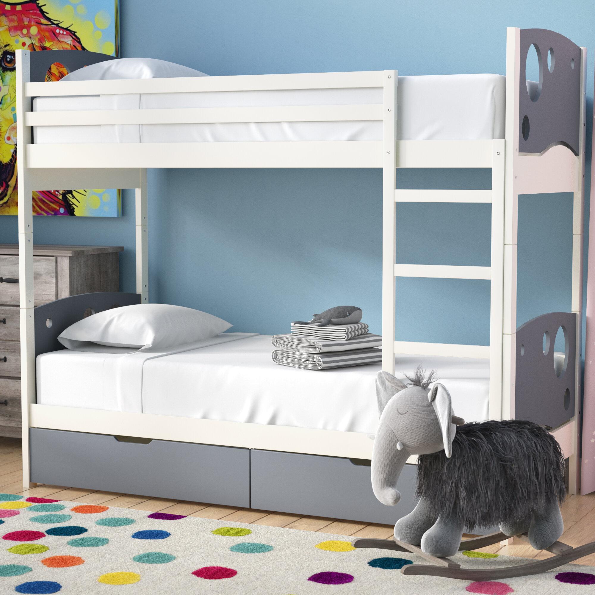 Dulcia Panel Toddler Bunk Bed