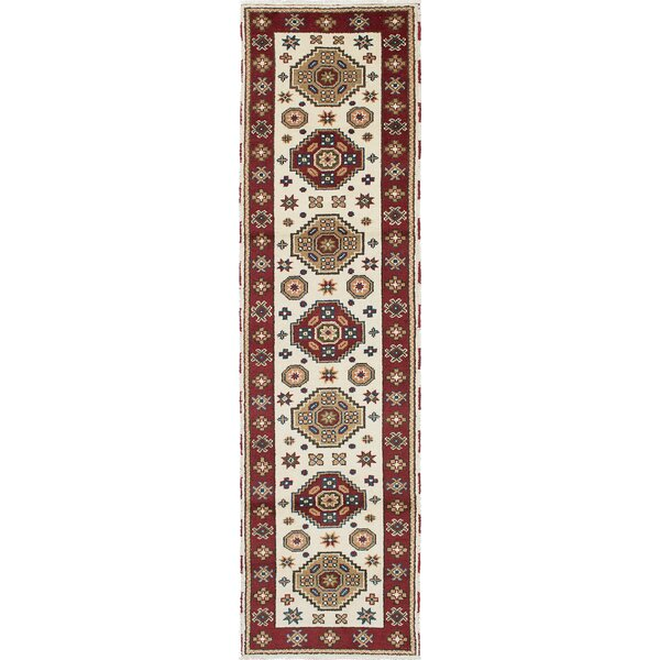 One-of-a-Kind Doering Hand-Woven Cream Area Rug by Isabelline