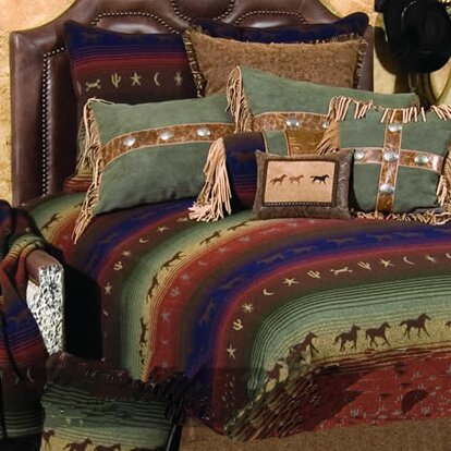 Mustang Canyon Coverlet Collection by Wooded River