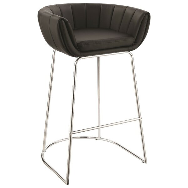 Wyant Low Back 31 Bar Stool (Set of 2) by Orren Ellis