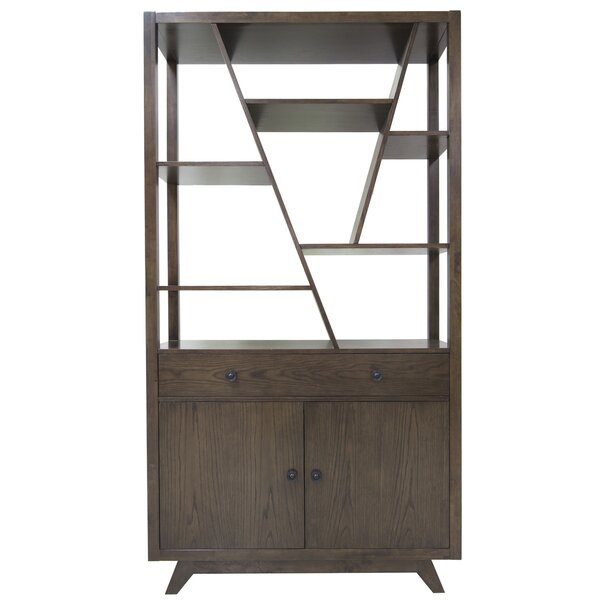 Hawthorne Estate English Geometric Bookcase By Crestview Collection