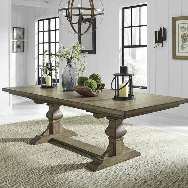Zachariah Extendable Dining Table by Alcott Hill