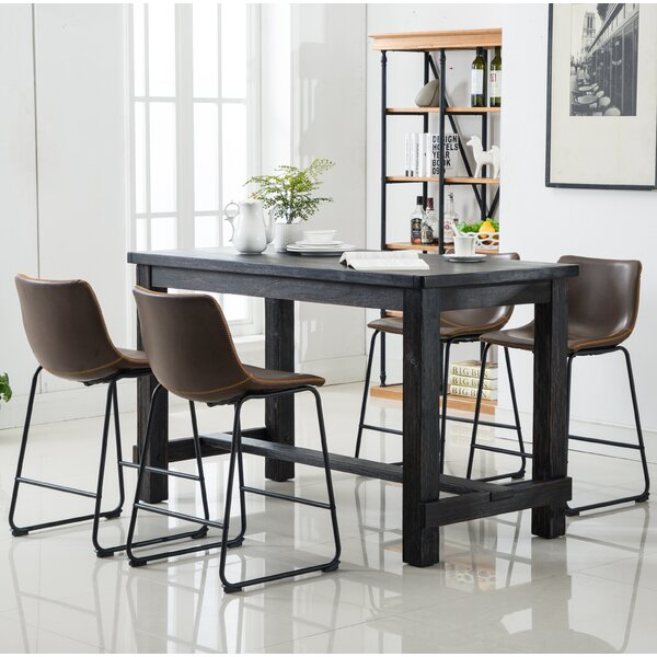 Shoemaker 5 Piece Counter Height Dining Set by Union Rustic