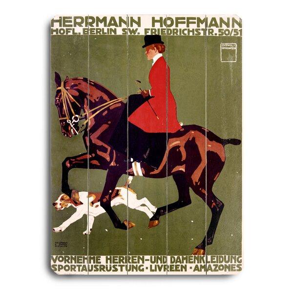 Berlin Horse Show Hunter Jumper Vintage Advertisement by Red Barrel Studio