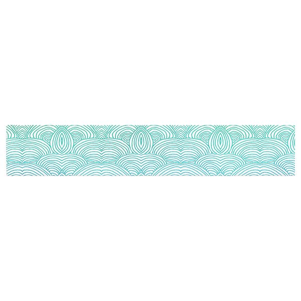 Pom Graphic Design Clouds in the Sky Table Runner by East Urban Home
