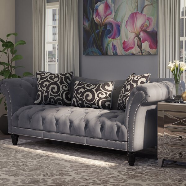 Looking for Hendrix Chesterfield Sofa By Willa Arlo Interiors Today Only Sale