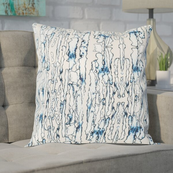 Abstract Ripple Throw Pillow Set (Set of 2) by Mercury Row