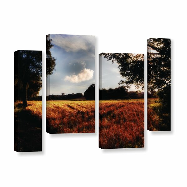 Farmville 4 Piece Photographic Print on Wrapped Canvas Set by August Grove