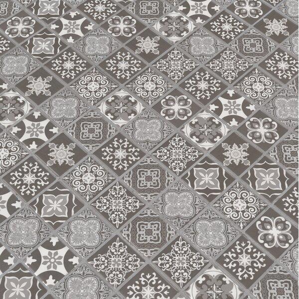 Anya Glazed Mesh Mounted 2 x 2 Ceramic Mosaic Tile in Black by MSI