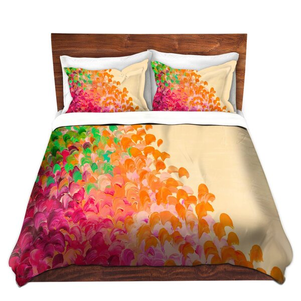 Sickler Julia Di Sano Creation in Color Autumn Infusion Microfiber Duvet Covers by Ebern Designs