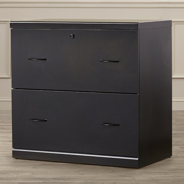 Otterbein 2 Drawer File Cabinet by Charlton Home