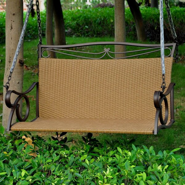 Saleh Porch Swing by Fleur De Lis Living