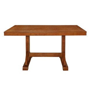 Clearance Aubree Wood Dining Table by Loon Peak