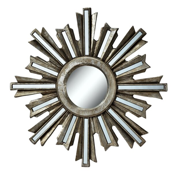 Sunburst Wall Mounted Wall Mirror by Willa Arlo Interiors