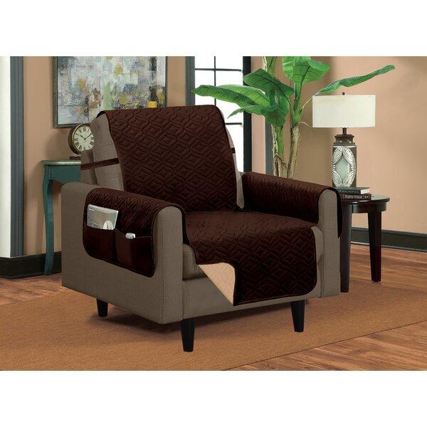 Classic Box Cushion Armchair Slipcover by Winston Porter