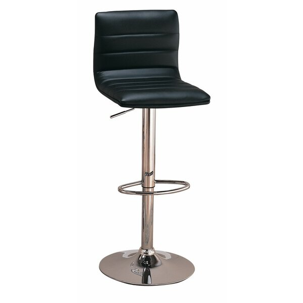 Bratches Adjustable Height Bar Stool (Set of 2) by Orren Ellis