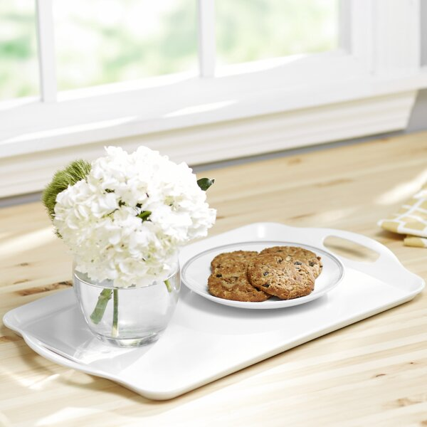Wayfair Basics Melamine Rectangular Plastic Serving Platter by Wayfair Basics™