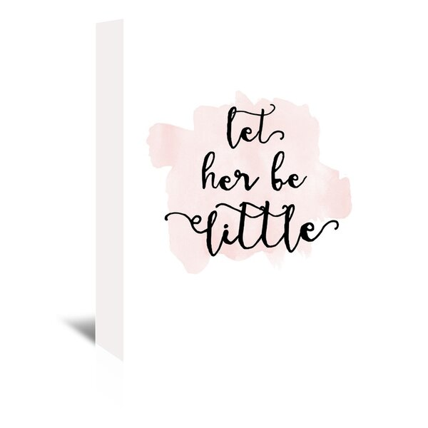 Let Her Be Little Watercolor Canvas Art by Viv + Rae