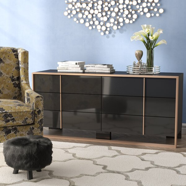 Ayaan 6 Drawer Dresser by Willa Arlo Interiors