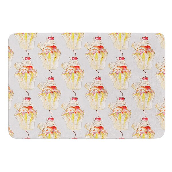 Cake by Louise Bath Mat by East Urban Home